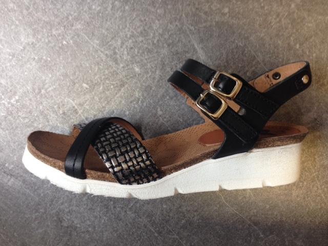 Felmini Femme Dol Sandales Chaussures Noir L45Aj3R